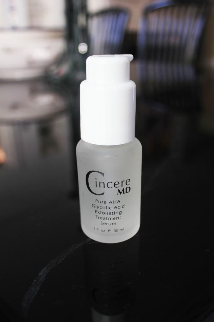 Exfoliating serum -cincere md